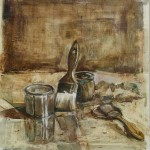 Nature morte aux brosses